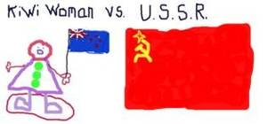 Kiwi Woman vs USSR