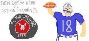 Den Jyske Hede vs Peyton Manning
